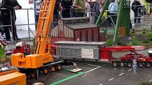100 Powerblock Trucks Heavy Haulage RC Truck Transport EXTREME Demag Crane 1200