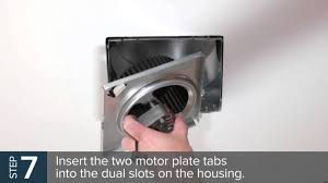 Nutone Bathroom Exhaust Fan Manual by Nutone Quickit Installation Video Qkn60 Youtube