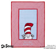 Dr Seuss Baby Bedding by Dr Seuss Cat In The Hat Baby Bedding Set Pottery Barn Kids