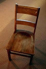 Wood Chair Seat Replacement Dining Room
