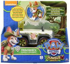 Amazon.com: Paw Patrol, Jungle Rescue, Tracker's Jungle Cruiser ...