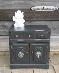 Kammys Korner Charcoal Black Cabinet