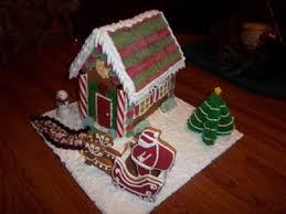 First Ever Gingerbread House