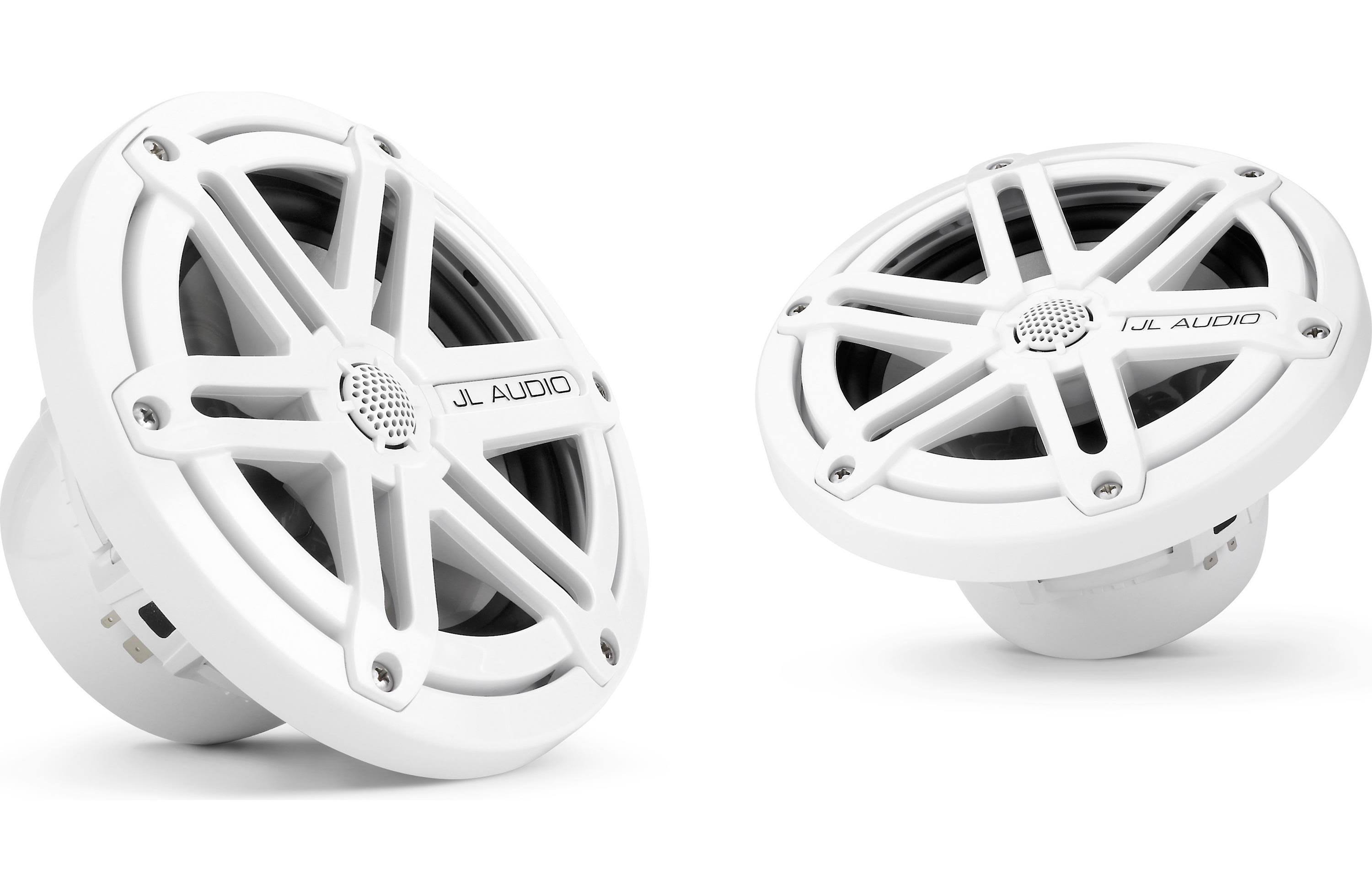 JL Audio 2 Way Marine Cockpit Coaxial MX Series Speakers - White, 6.5""