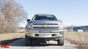 2007-2013 Chevrolet Silverado 1500 20-inch Single Row LED Light Bar ...