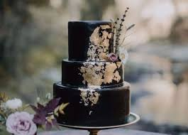 Black Wedding Cakes Are The Latest Trend And Were In LOVE