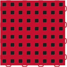 Red Black Vinyl Flooring Tiles