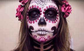 Halloween Half Mask Makeup by The 15 Best Sugar Skull Makeup Looks For Halloween Halloween
