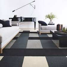 Living RoomCool Room Carpet Idea Modern Abstract Pattern Cool