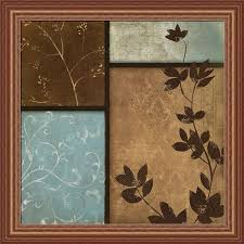 Blue And Brown Bathroom Wall Decor by Bathroom Wall Art Blue And Brown Bathroom Decor Modern Brown And