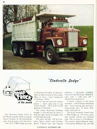Photo: December 1980 Dump Truck Of The Month A | 12 Overdrive ... Truck Paper Com Dump Trucks Or For Sale In Alabama With Mini Rental 2006 Ford F350 60l Power Stroke Diesel Engine 8lug Biggest Together Nj As Well Alinum Dodge For Pa Classic C800 Lcf Edgewood Washington Nov 2012 Flickr A 1936 Dodge Dump Truck In May 2014 Seen At The Rhine Robert Bassams 1937 Dumptruck Bassam Car Collection 1963 800dump 2400 Youtube Tonka Mighty Non Cdl 1971 D500 Dump Truck