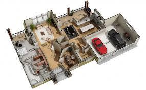 Building Floor Plan Colors 3d Marketing Floor Plans Architectural Visualization Key Vision