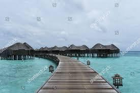 100 Constance Halaveli Maldives Luxury Resort Editorial Stock Photo