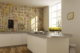 cr ence couleur cuisine attractive inspiration carrelage cuisine jaune cr dence carreaux de ciment patchwork et artistique blanc marron fogazza jpg