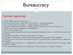 100 cabinet agencies ap gov types of bureaucracies crash
