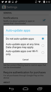 How to turn off automatic updates of apps on mobile – MangoApps Help
