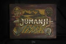 Jumanji Board Game Prop Replica V2 Screen Accurate With Light Sound