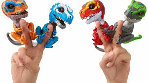 T Rex Dinosaur Fingerlings Are The Latest Toys That Your Kids Will Go Totally Wild For