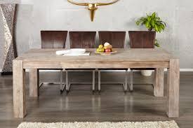 table de salle a manger en bois massif et moderne maisonjoffrois