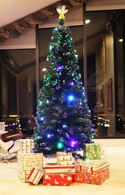 8 Ft Pre Lit Multicolor Christmas Tree by Chino Warehouse