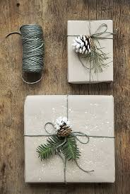 Loving This Rustic Christmas Gift Wrap With Panduro Products By