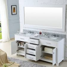 Small Double Sink Vanity Dimensions by Water Creation Madison 72w 72 Inch Solid White Double Sink