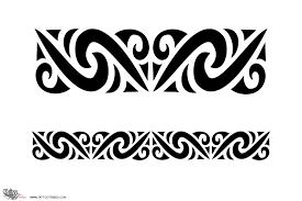 Wonderful Tribal Armband Tattoos Photo