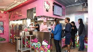 Hello Kitty Cafe Pops Up At Fashion Valley — For Awhile - The San ...