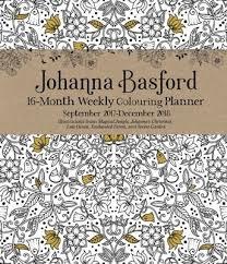 Johanna Basford Colouring Diary 2017 2018 By Johanna Basford