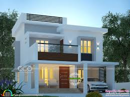 100 New Modern Home Design 1600 Sqft Modern Home Plan With 3 Bedrooms Kerala Home Design