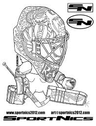 Download Coloring Pages Nhl Hockey To
