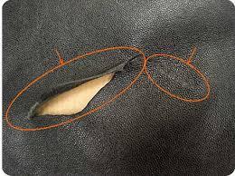 reparation siege cuir auto réparation rénovation de déchirure accroc trou brulure de cigarette