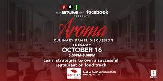 100 Dallas Truck Center Aroma Culinary Panel Discussion Black Restaurant Week