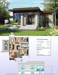 100 Modern Design Floor Plans Plan 90262PD Compact House Plan In 2019 House Pinterest