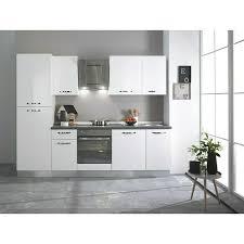 küchenzeile breite 270 cm mit elektrogeräten weiß