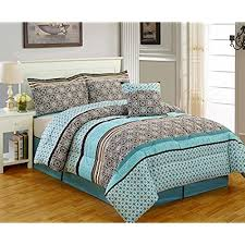 Teal and Brown Bedding Amazon
