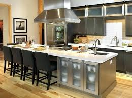 Free Standing Kitchen Islands With Seating Modern Island Plan Including 5 Black