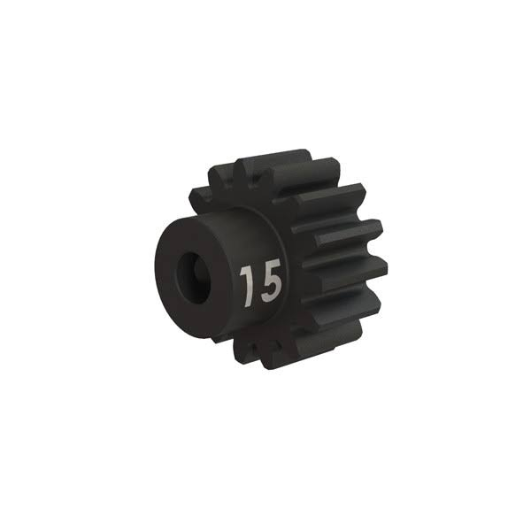 Traxxas Heavy Duty Hardened Steel Gear Pinion with Set Screw - 15T