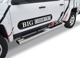 6 In. WIDESIDER II Platinum Bars, Big Country Truck Accessories ...