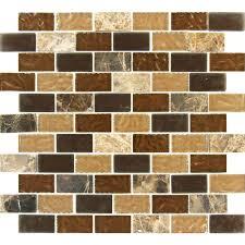 Smart Tiles Mosaik Multi by Decorating Home Depot Mosaic Tile Smart Tiles Lowes