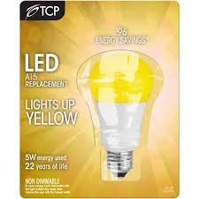 tcp 5w led a l yellow buglight walmart