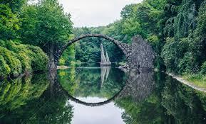 100 Water Bridge Germany Rakotz Bridge Rakotzbrucke Also Known As Devils In