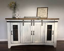 Rustic Tv Standfurnituremedia Console Wood Decorfarmhousehandmade