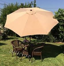 9 Ft Patio Umbrellas With Tilt by Apex Living 9 Ft Steel Patio Umbrella With Tilt And Crank 6 Ribs