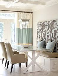 Bench Seat At Dining Room Janisnext To A Glass Sliding Door Inside Seating