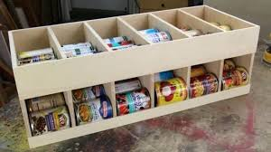 Pantry Can Organizer Canned Goods Storage Rack Free Plans Superior