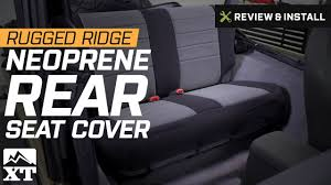 100 Neoprene Truck Seat Covers Jeep Wrangler Rugged Ridge Rear Cover 19972002 TJ