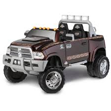 Kid Trax Mossy Oak Ram 3500 Dually 12V Battery Powered Ride-On ...