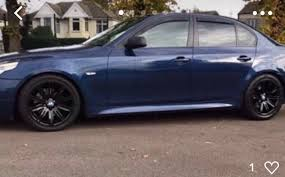Bmw 530d blue fully loaded fully modified