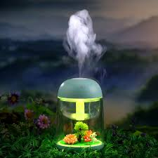 luftbefeuchter usb luftbefeuchter 180ml aroma diffuser abschaltautomatik raumbefeuchterund 7 farbwechsel micro landschaft luftbefeuchter für